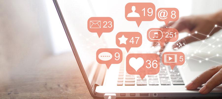 publicité sur les réseaux sociaux